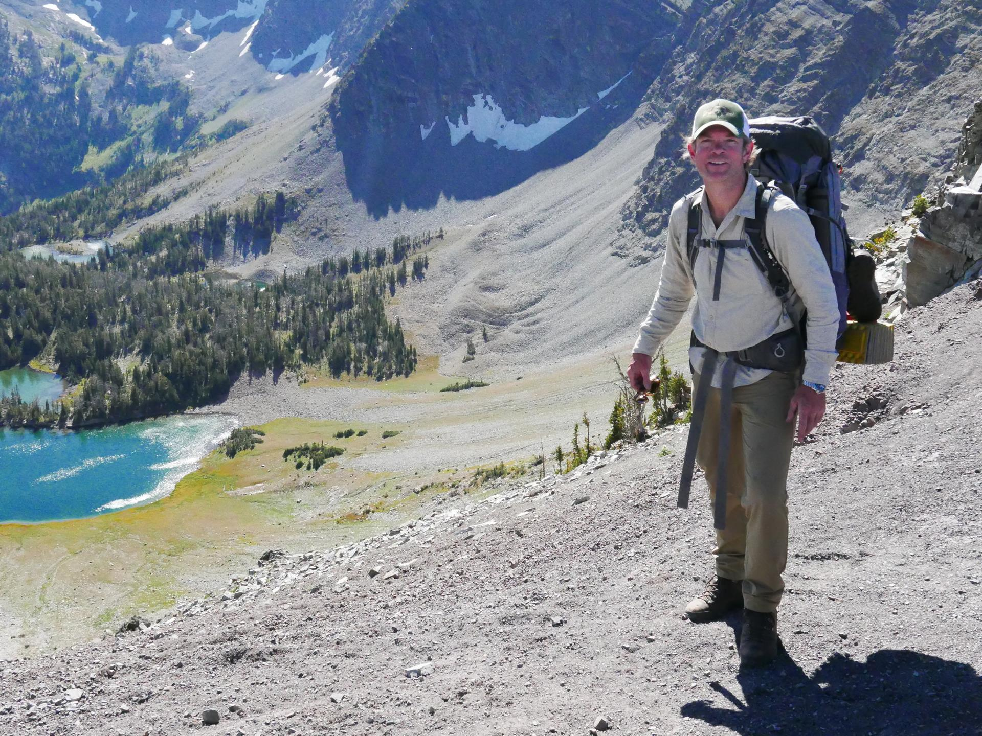 Hiking in my favorite range - The Crazy Mountains